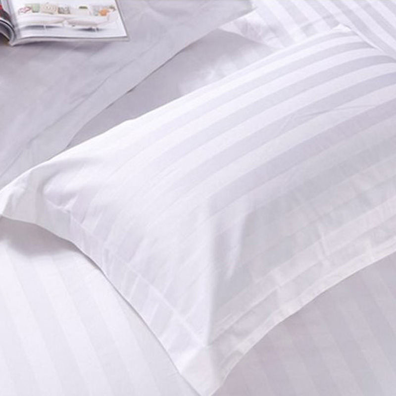 4 PCS de luxe 250 fils Count Cotton Inn Fine Hôtel Literie